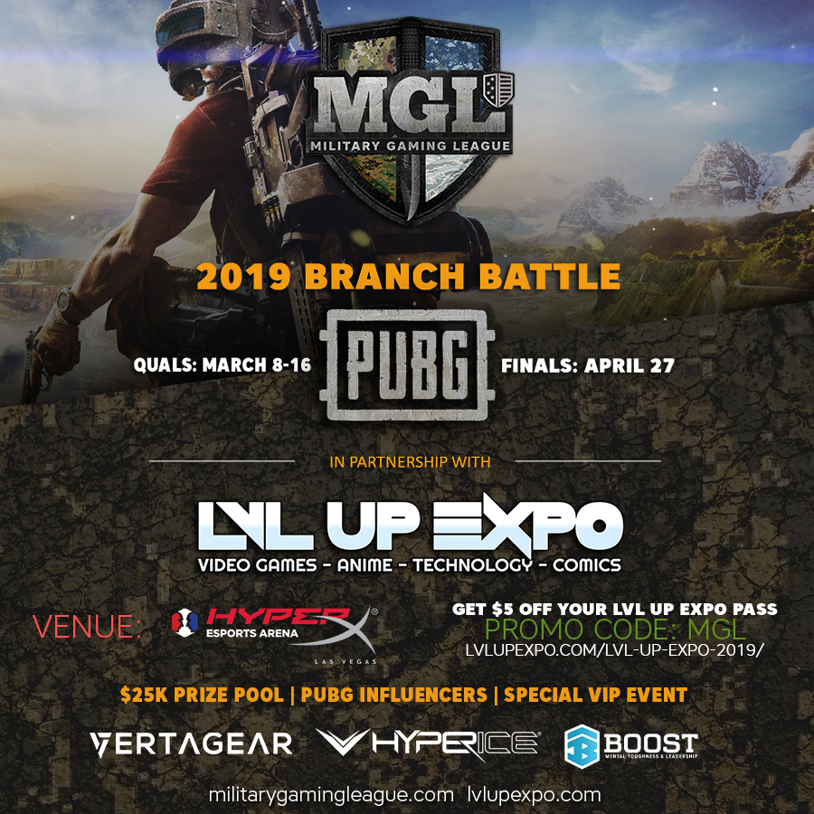 PUBG Branch Battle Registration Now OPEN! - Military Gaming